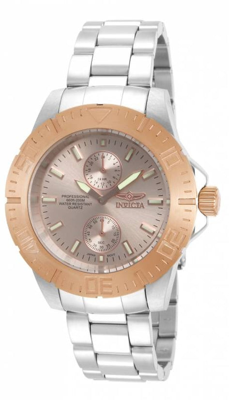 Pro Diver Men's Stainless Steel Copper Dial