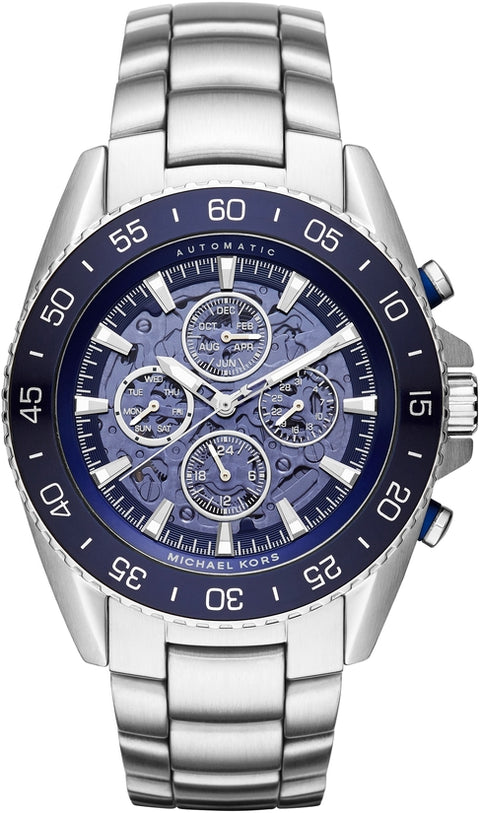 Jetmaster Automatic Multifunction Silver Tone