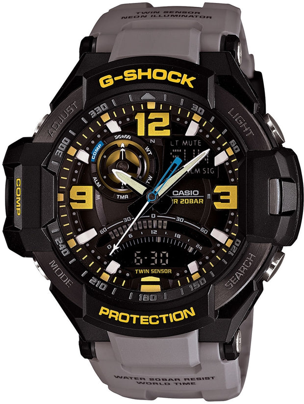 G-Aviation Multifunction Gray Resin