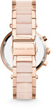 Parker Chronograph Rose Tone/Blush Acetate