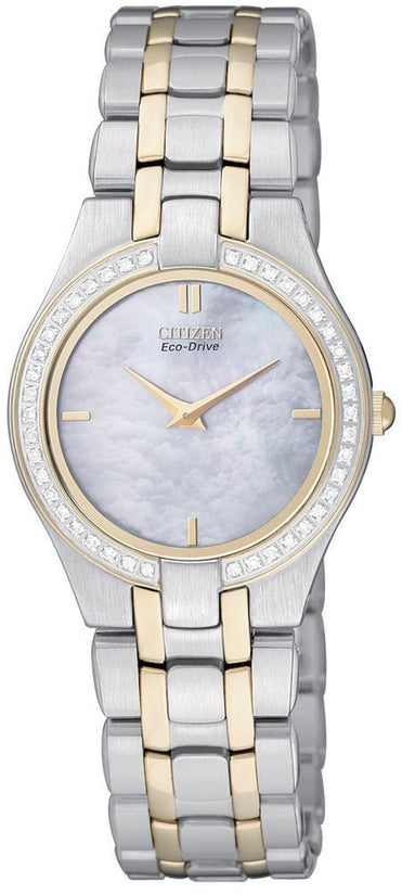 EG3154-51D Stiletto Mother Of Pearl Dial Stainless Steel Strap Women's Watch