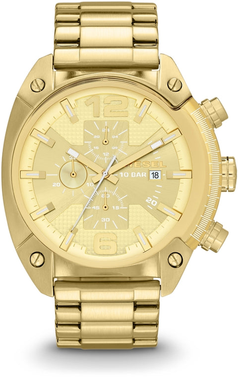 Overflow Chronograph Gold Tone All