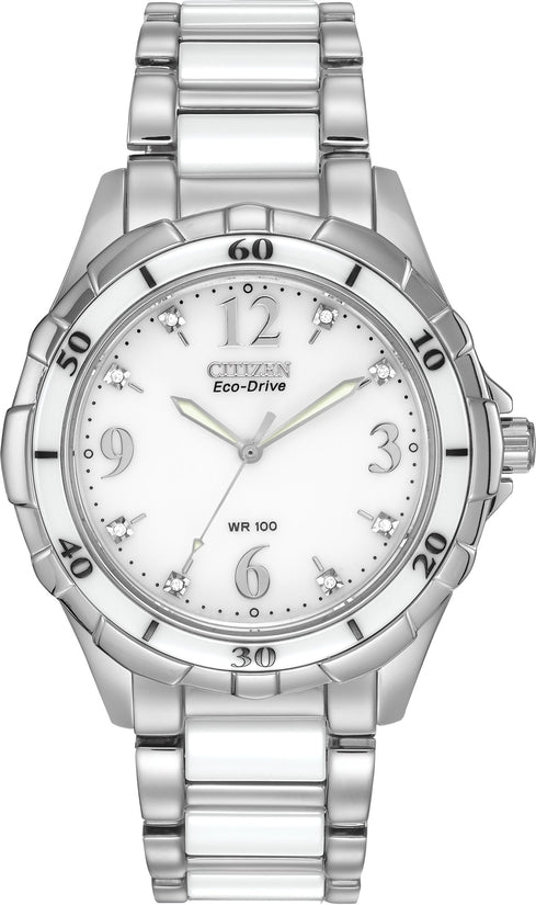 Citizen Ceramic 8 Diamonds Ceramic Links