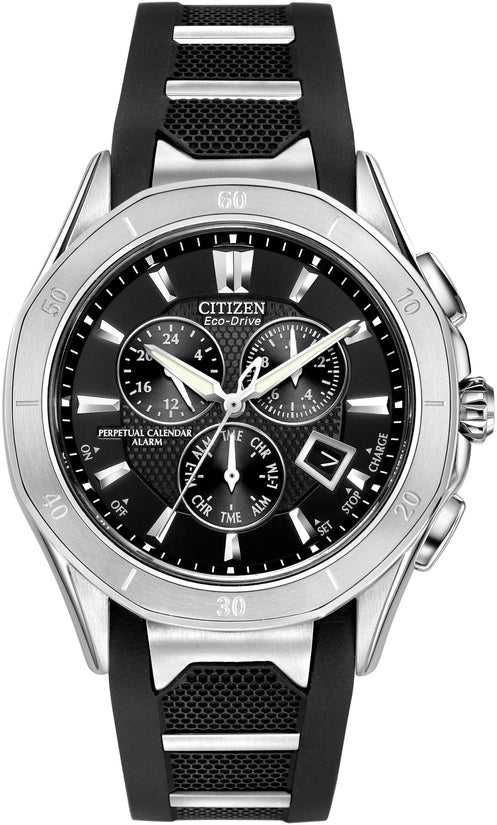 Octavia Perpetual Calender Black Rubber Mens Watch BL5460-00E