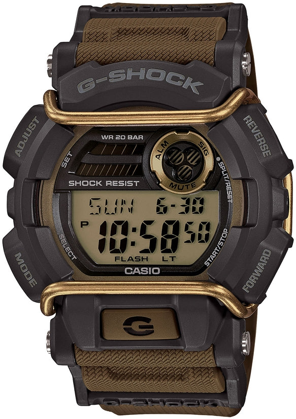 G-Shock GD400-9 Classic Sports Series Green Dial Resin Strap Mens Watch