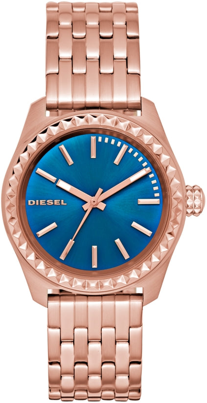 Kray Kray 38 Blue Dial Rose Gold Tone