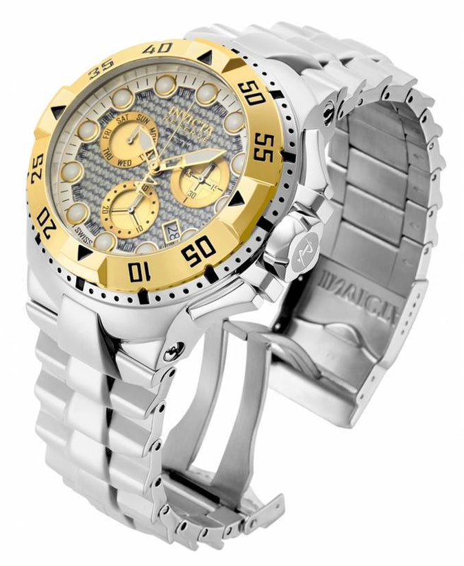 Excursion Men's Stainless Steel Silver Dial