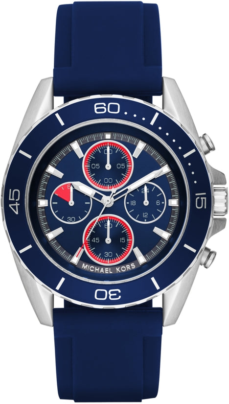 Jetmaster Chronograph Blue Silicone