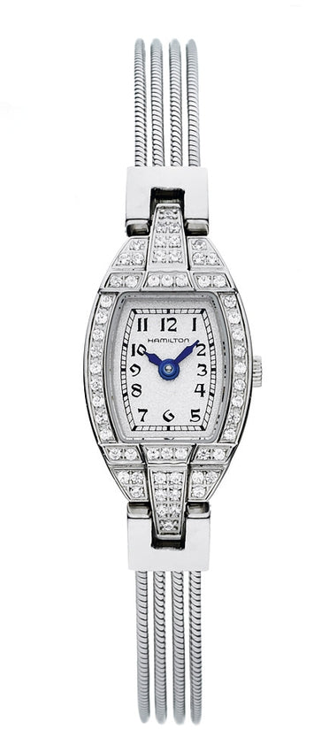 American Classic Women's Stainless Steel Bracelet White Dial