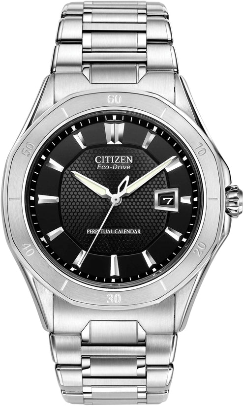 Octavia Perpetual Calender Stainless Steel Mens Watch BL1270-58A