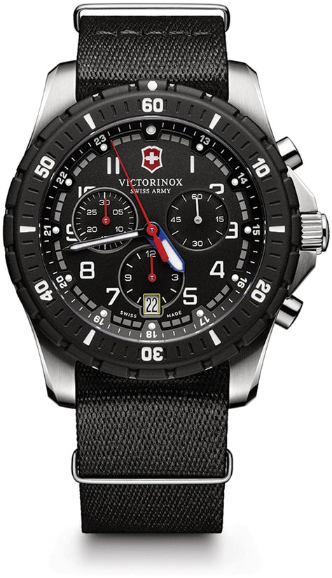 Maverick Sport Chronograph Black Dial & Nylon