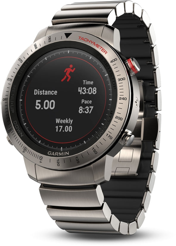 Fenix Chronos GPS Titanium Activity Tracker HR