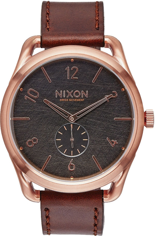 C45 Leather Rose Gold / Brown Watch