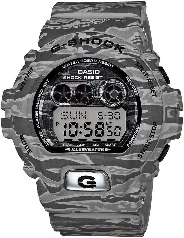 G-Shock GDX6900TC-8 Tiger Camouflage Resin Strap Mens Watch