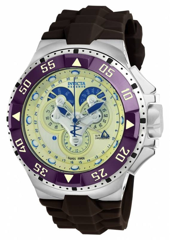 Excursion Men's Polyurethane Champagne Dial