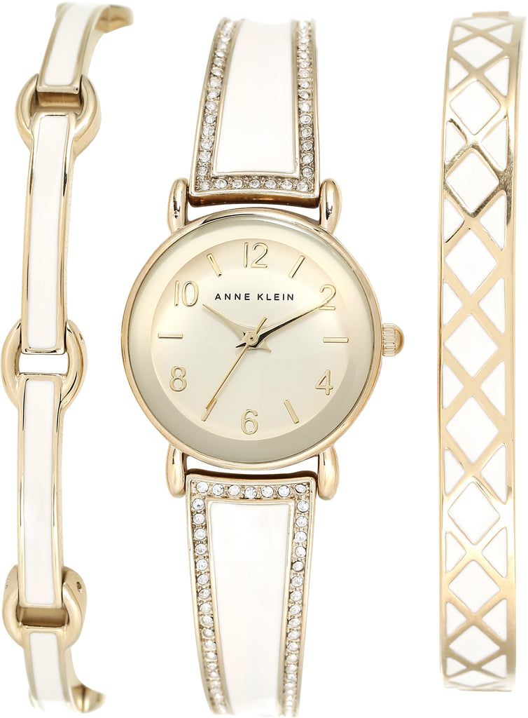 Women's Bangle White Dial