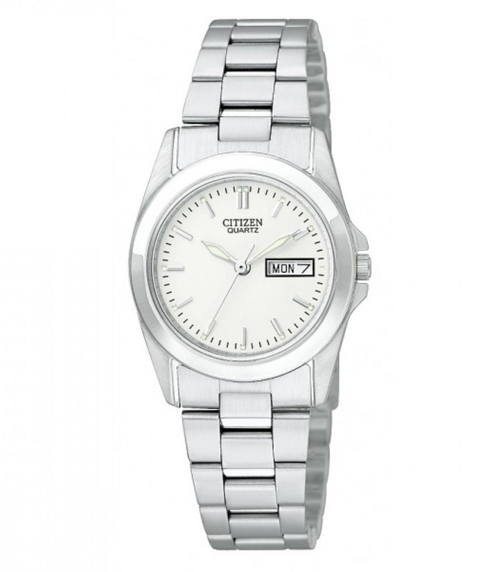 Day Date Analog Stainless Steel Womens Watch EQ0560-50A