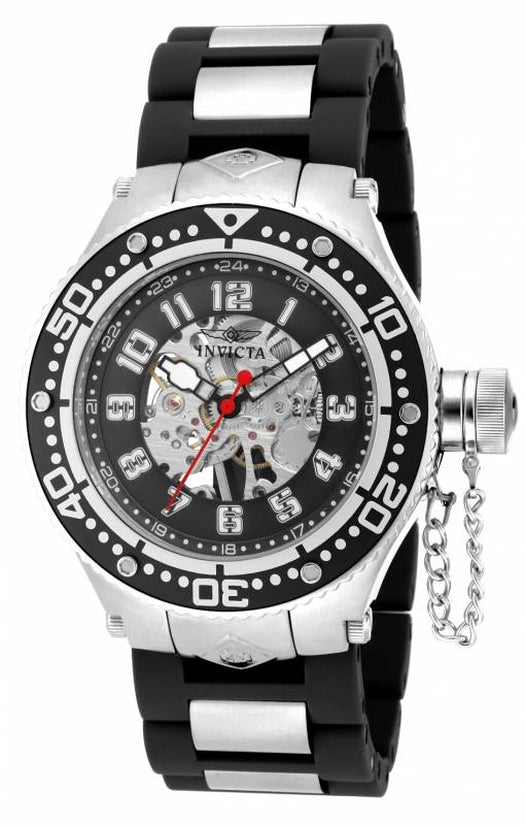 Corduba Men's Polyurethane/Stainless Steel Black Dial