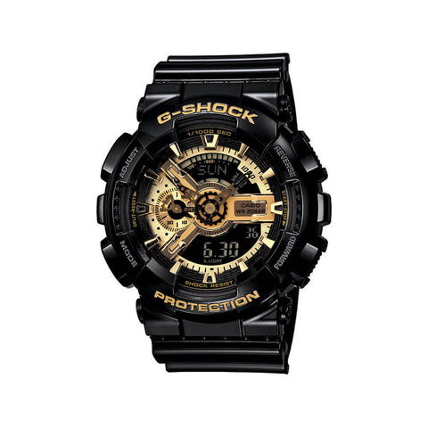 Limited Edition Analog Black Gold Resin