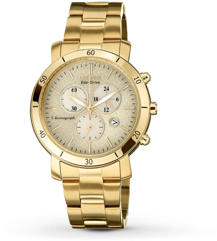 AML 3.0 Chronograph Gold Tone Stainless Steel Women's Watch FB1342-56P