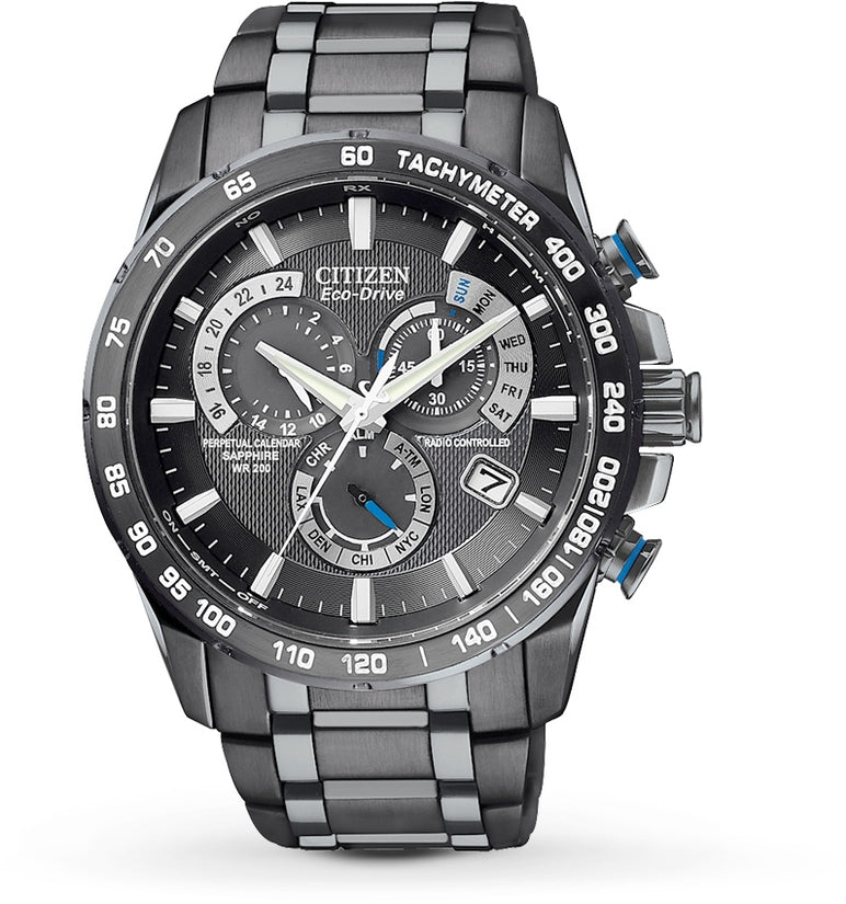 Perpetual Chrono A-T Black IP