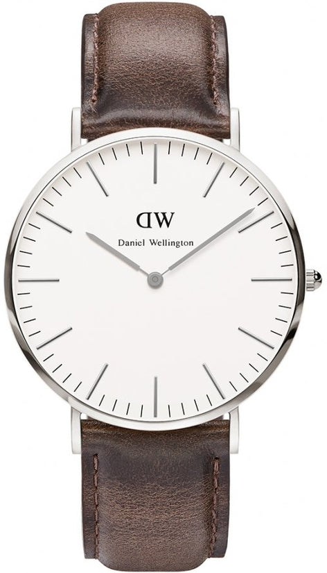 Classic Cardiff Silver 40mm