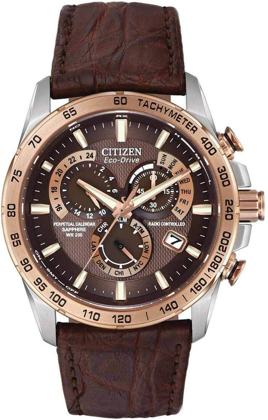 Limited Edition Perpetual Chrono A-T Leather