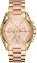 Bradshaw Chronograph Gold and Rose Gold Tone
