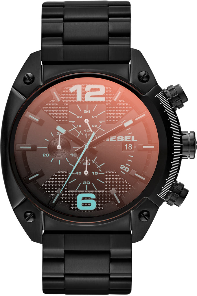 Overflow Chronograph Black IP All