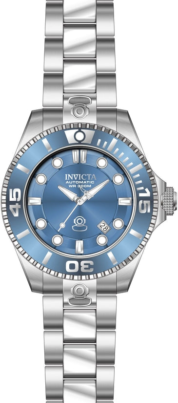 Pro Diver Men's Stainless Steel Blue Dial