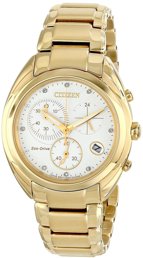 FB1392-58A Celestial White Dial Gold Tone Stainless Steel Strap Women's Watch