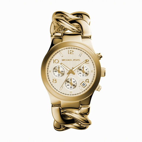 Runway Twist Chronograph Gold Tone