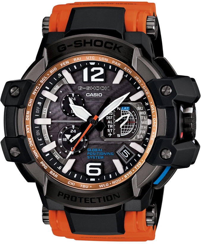 G-Shock GPW1000-4A GravityMaster Black Dial Resin Strap Mens Watch