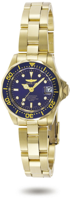 Pro Diver Women's Stainless Steel Blue Dial