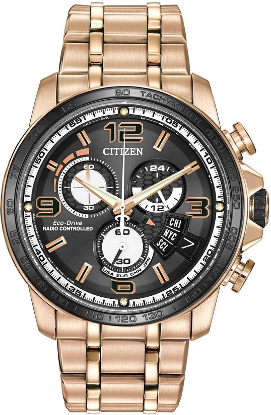 Chrono-Time A-T Rose Gold Tone