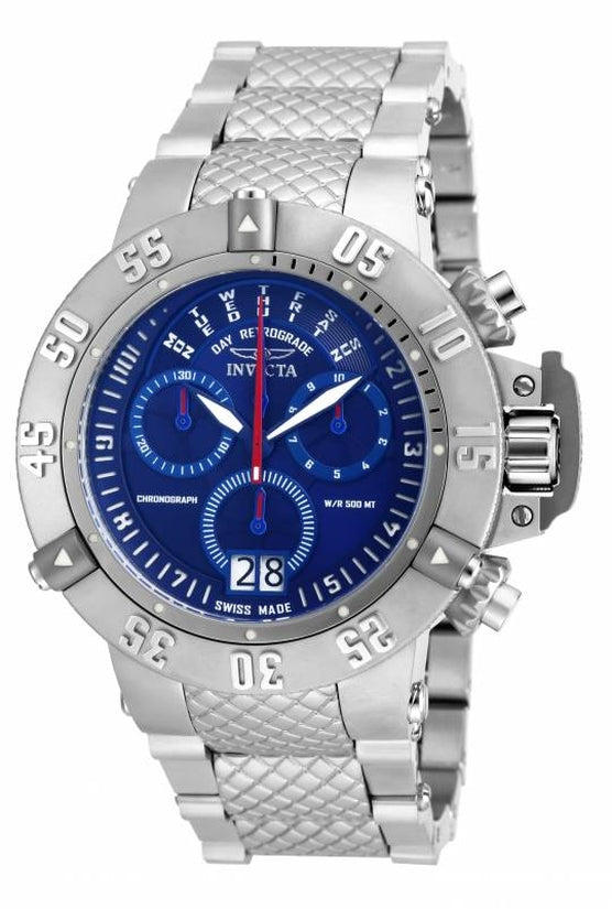 Subaqua Men's Stainless Steel Blue Dial