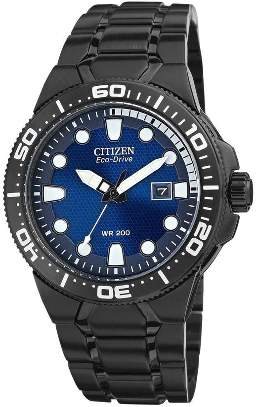 BN0095-59L Scuba Fin Dive Blue Dial Stainless Steel Strap Men's Watch