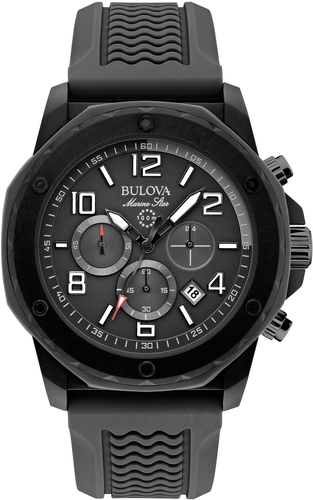 Marine Star Chronograph All Black