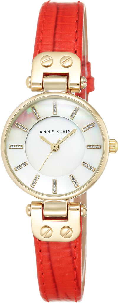 Women's Genuine Leather Mother of Pearl Dial