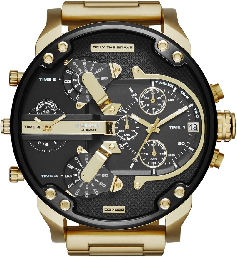 Mr Daddy 2.0 Chronograph Gold Tone
