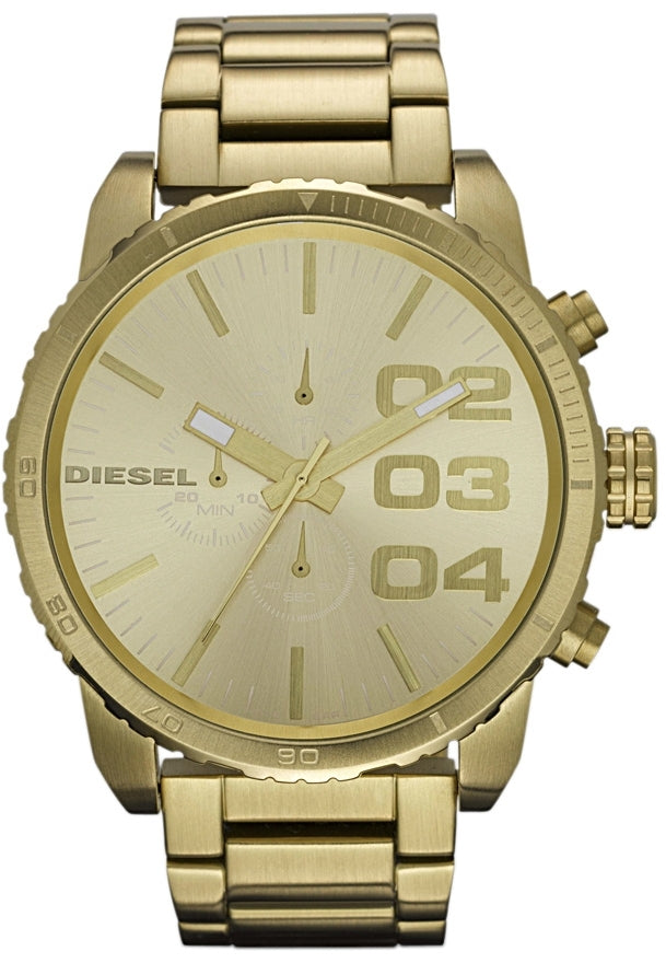 Double Down 51 Chronograph Gold Tone All