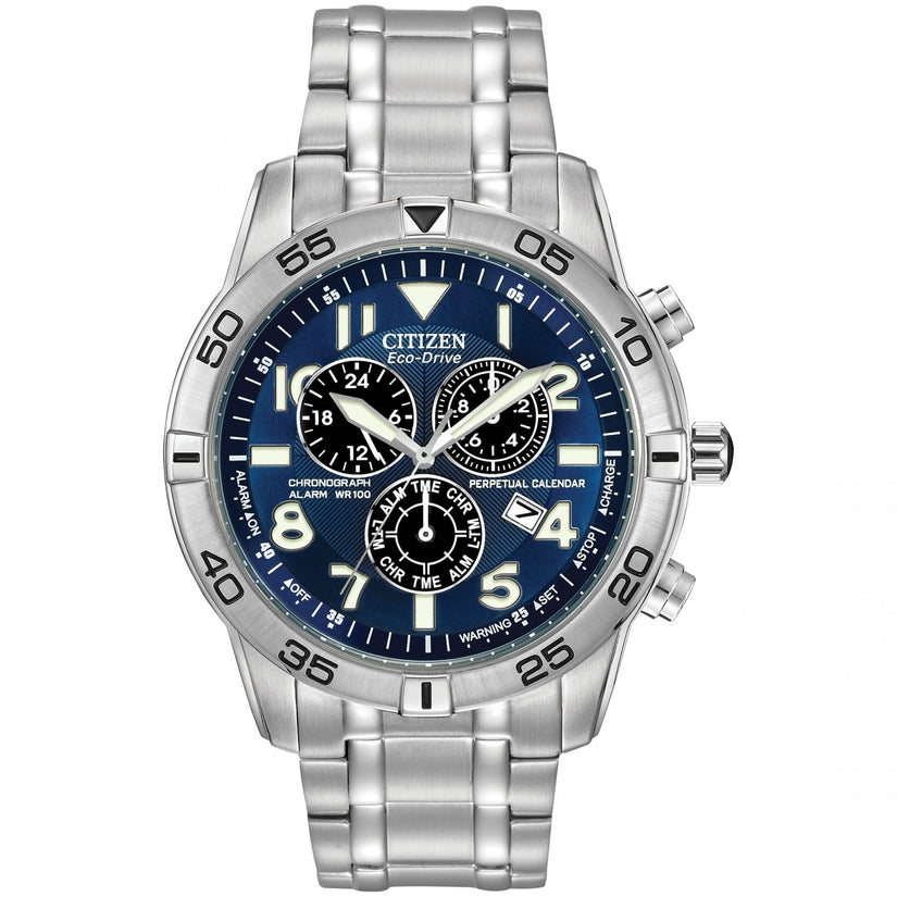 BL5470-57L Blue Dial Stainless Steel Strap Men's Watch
