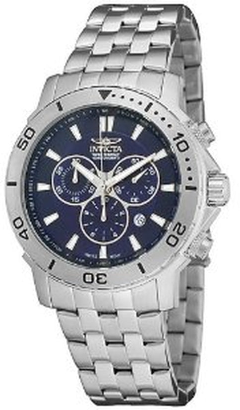 Specialty Men's Stainless Steel Blue Dial