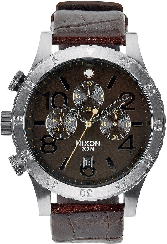 48-20 Chrono Leather Brown Gator