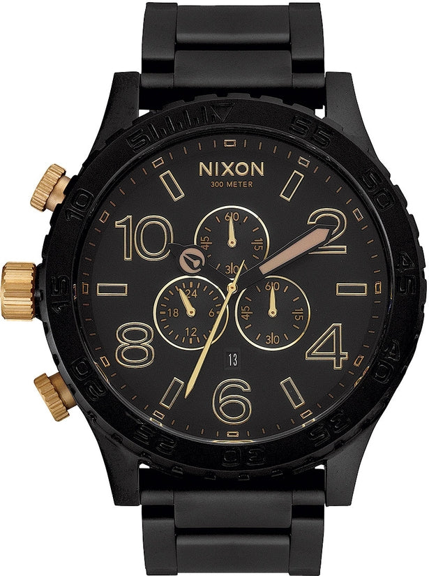 51-30 Chrono Matte Black / Gold