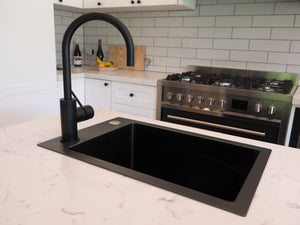 Black (Graphite) Kitchen Sink - Single Bowl