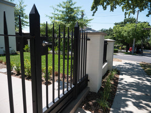 Wrought Iron Steel Gates and Fence Panels