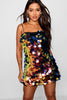 Iridescent Oversized Sequin Bodycon Dress
