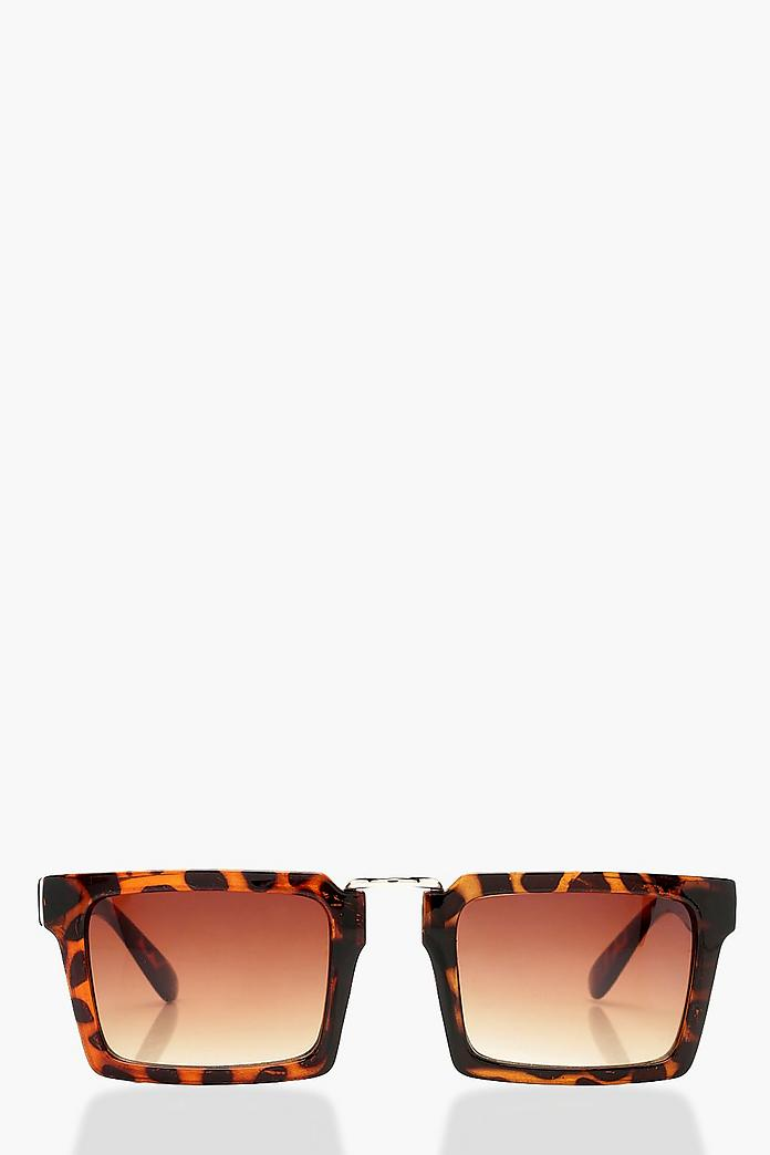 Tortoiseshell Retro Fashion Glasses