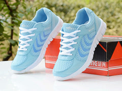 Light breathable mesh sneakers